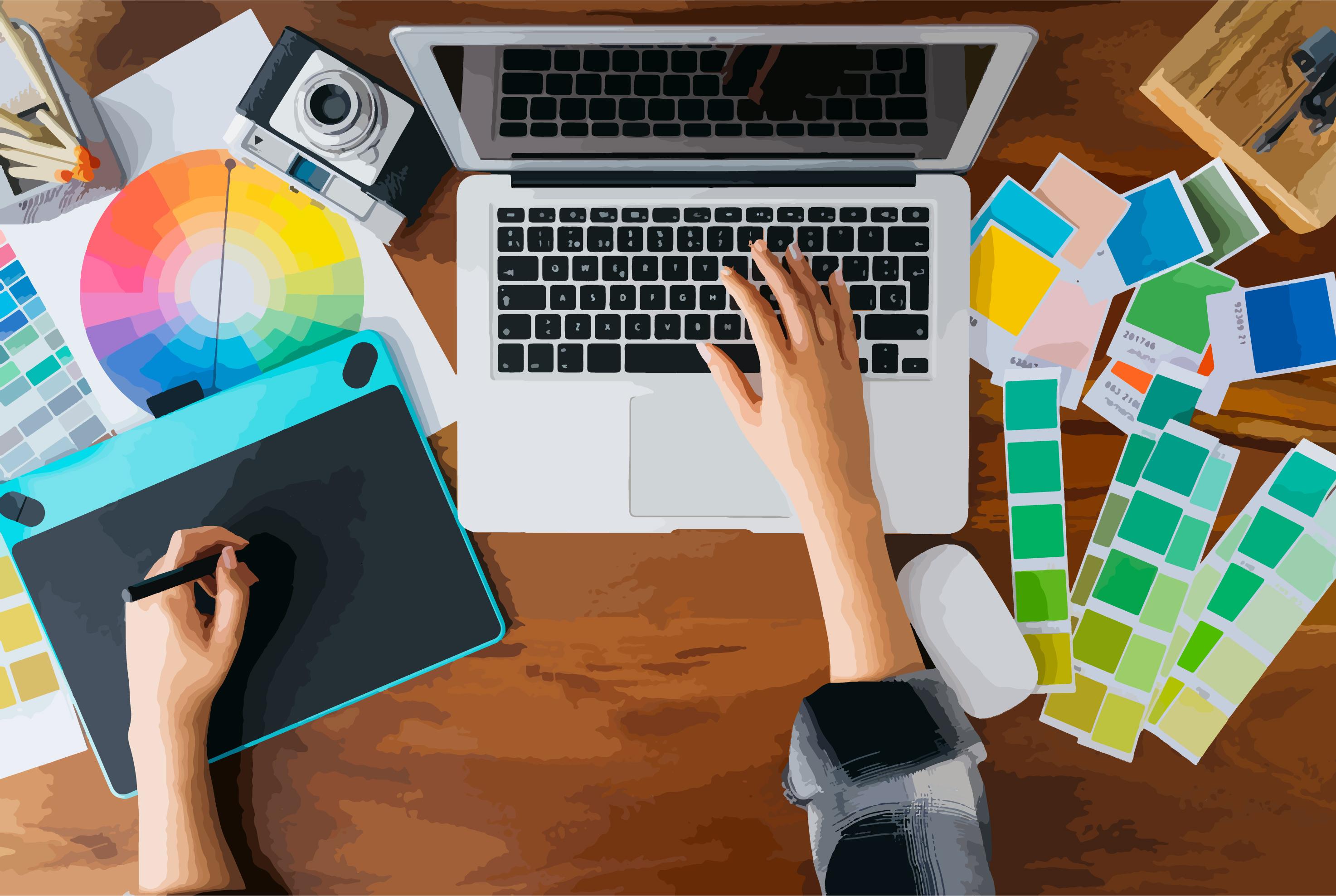 Развитие дизайна картинки